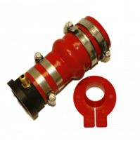seriesOne Drip Free Shaft Seal for a 1 Inch (25.4mm) Propeller Shaft with Multi Convolution Hose - ONE-1000-2000-M - Tides Marine