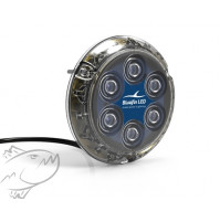 Piranha P6 NITRO - Suitable for boats up to 14m, 45ft - 12/24 Volts - 3000 lumen - P6N-SM-B114X - Bluefin Led
