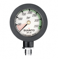 SM-36 PRESSURE GAUGE 300 with Rubber Sleeve - CO-ST05108M200 - Suunto