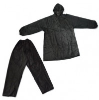 Polyester Rain Suit - Black Color - RS051-MX - AZZI Tackle