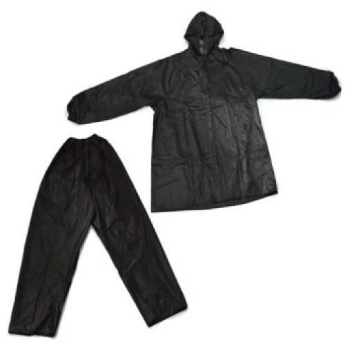 Polyester Rain Suit - Black Color - RS051-MX - AZZI Tackle