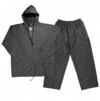 Polyester Rain Suit - Grey Color - RS053-MX - AZZI Tackle