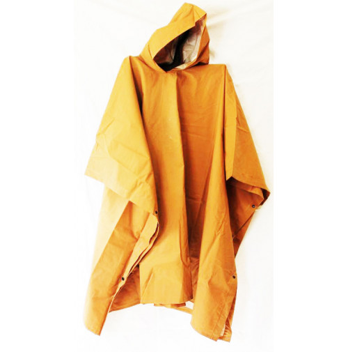 Poncho Raincoat for Adult - Light Brown Color - RS080 - AZZI Tackle