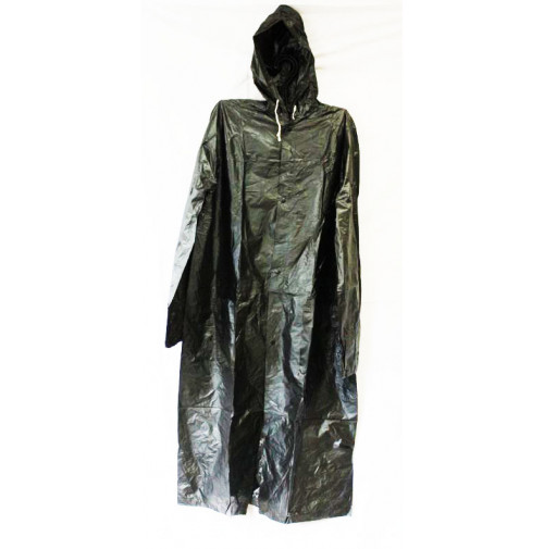 Poncho Raincoat for Adult - Black Color - RS090 - AZZI Tackle