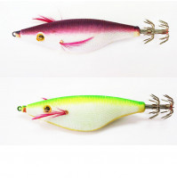 Plastic Squid Jig without Plomb - S60X - AZZI Tackle