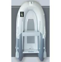 Inflatable RIB Boat Sea Rover Series, Aluminum RIB / double layer Aluminum floor - IB-SR270RIB-GYX - ASM International