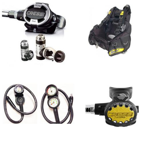 Advanced Pro Diver Set - contains 4 items
