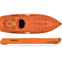 Kayak for Adult - Orange Color - SF-2001-021U - Seaflo