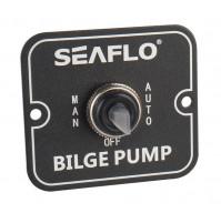 3 Way Switch Panel - 12V & 24V - MAN-OFF-AUTO - SFSP-01 - Seaflo