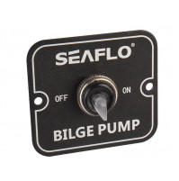 2 Way Switch Panel - 12V & 24V - OFF-ON - SFSP-02 - Seaflo