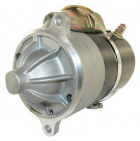 "Inboard Starter for Ford used on Crusader & others. DE Extends 2"" into flywheel - CW Rotation 9-tooth - 10032 - API Marine"