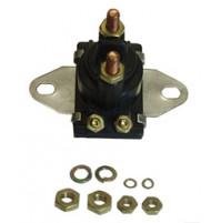 Solenoid 12volt Mercury/Mercruiser Solenoid Used for O/B Starters & PTT Motors 12V Isolated Base, OE# 89-96054T - SW102 - API Marine