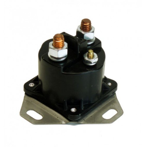 OMC 12V 3-Post Solenoid Grounded Base - SW97 - API Marine