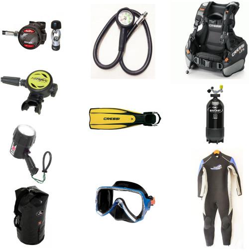 Open Diver Complete Set - Contains 10 mix items