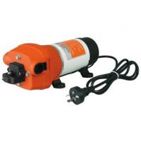 Diaphragm pressure pump - 210-240 Volt - 35 PSI - 2,4 Bar - 12,5 LpM - DPA2-033-035-41 - Seaflo