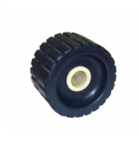 5'' Ribbed Wobble Roller With Nylon Side Bushes - WR1309 - Multiflex