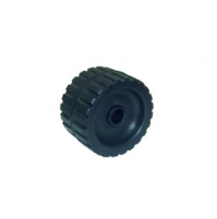 5'' Ribbed Wobble Roller With Nylon Side Bushes - WR1312 - Multiflex