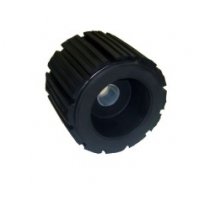 5'' Ribbed Wobble Roller With Plastic Pipe Insert - WR1314 - Multiflex