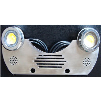 Trim Tab LED Light - 2X9W - 12V - Blue - ZY-DLB-2X9B - ASM