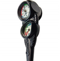 Console 3 - (COMPASS + PRESSURE GAUGE BAR + DEPTH GAUGE) - CO-CKC764450 - cressi