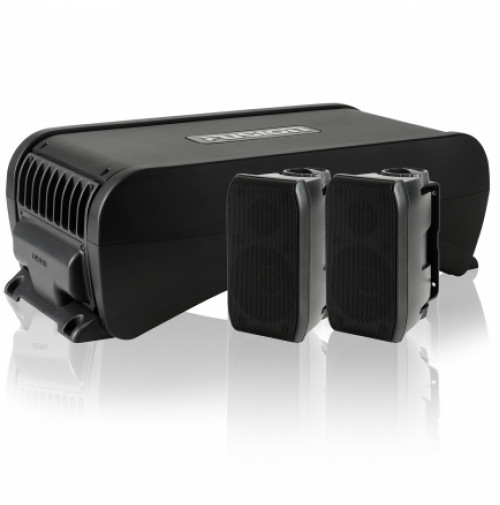 Active Subwoofer with in-built 4 Channel Amplifier, MS-AB206 - Fusion