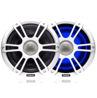 "6.5"" 230 Watt Coaxial Sports White Marine Speaker with LEDs, SG-CL65SPW - 010-01428-02 - Fusion"