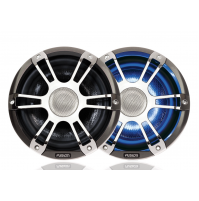 "6.5"" 230 WATT Coaxial Sports Chrome Marine Speaker with LEDs, SG-CL65SPC - 010-01428-03 - Fusion"
