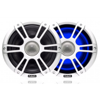 "7.7"" 280 Watt Coaxial Sports White Marine Speaker with LEDs, SG-CL77SPW - 010-01428-12 - Fusion"