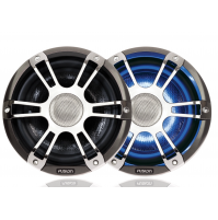 "7.7"" 280 Watt Coaxial Sports Chrome Marine Speaker with LEDs, SG-CL77SPC - 010-01428-13 - Fusion"