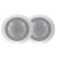 "EL Series 6.5"" 80 Watt Full Range Shallow Mount Marine Speakers Without Leds, EL-F651W  - White color - 010-02080-00 - Fusion"