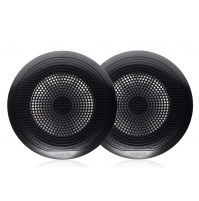 "EL Series 6.5"" 80 Watt Full Range Shallow Mount Marine Speakers without Led, EL-F651B - Black color - 010-02080-10 - Fusion"