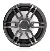 "XS Series 10"" 600 Watt Sports Marine Subwoofer, XS-SL10SPGW - Grey/White - 010-02198-20 - Fusion"