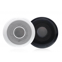"XS Series 4"" 120 Watt Classic Marine Speakers Without Led, XS-F40CWB - White/Black - 010-02199-00 - Fusion"