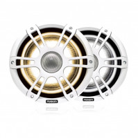 "7.7"" 280 Watt Coaxial Sports White Marine Speaker with CRGBW LED Lighting - SG-FL772SPW - 010-02433-10 - Fusion"