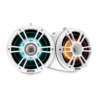 "6.5"" 230 Watt Sports White Marine Wake Tower Speaker with CRGBW - 010-02438-01 - Fusion"