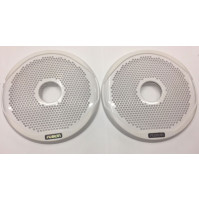 "7"" White Grille to suit MS-FR7021 Speakers, Pair - 010-01650-00 - Fusion"