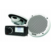 Combo Pack with MS-RA50 Head Unit and MS-EL602 Speakers - MS-RA50KTS - Fusion