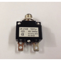 Circuit Breaker - Push Reset - JH-01AB-10X - ASM