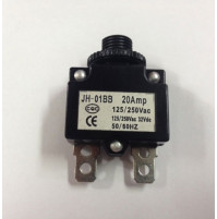 Circuit Breaker - Push Reset - JH-01BB-10X - ASM