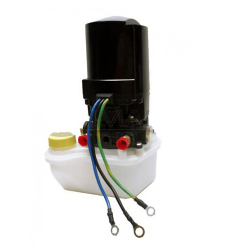 Mercury High Performance Trim Tab Power Unit with Right Side Fill Plastic Reservior 3-Wire Motor 009 - PT505N-2 - API Marine