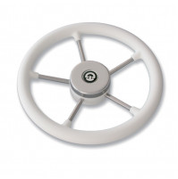 VR03 Steering Wheel -  White Color  - 62.00497.01 - Riviera
