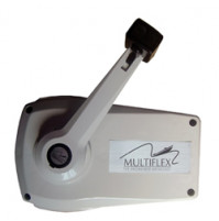 Side Mount Lever - White (with Zinc Housing) LM-V-8 - Multiflex