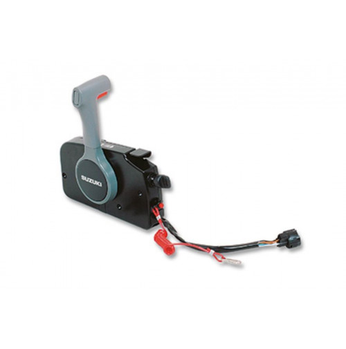 Side Remote Control Box for Suzuki Outboard Motors with PT Push