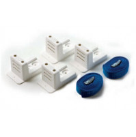 Fixing kit for tanks and liferaft made of 4 brackets- white - ST2339 - CanSB
