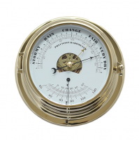 NAUTICAL BAROMETER & THERMOMETER - GL195-BT - Sumar