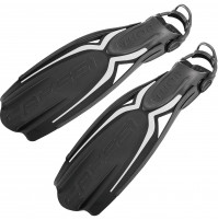 Thor EBS Adjustable Fins - Black/Grey - Large - FS-CBE155042 - Cressi