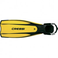 Pro Light adjustable Fins - Yellow Color - Large/Xlarge - FS-CBG171044 - Cressi