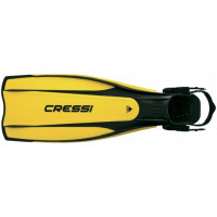 Pro Light adjustable Fins - Yellow Color - XSMALL/Small - FS-CBG171038 - Cressi