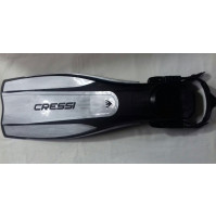 Pro Light Adjustable Fins - Silver Color - Small/Medium - FS-CBG175140 - Cressi