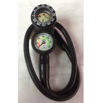 2 Element Console (Pressure + Compass) Nitrox - CO-ACSBM2N - AZZI SUB